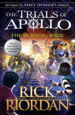 THE BURNING MAZE - THE TRIALS OF APOLLO