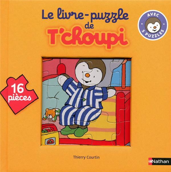 Le Livre Puzzle De T'Choupi ; 16 Pieces