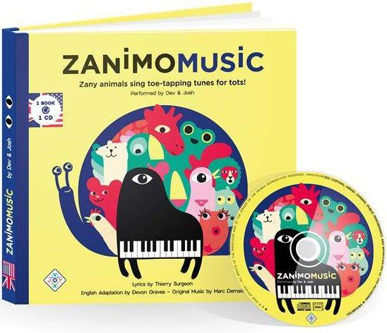 Zany animals sing toe-tapping tunes for tots!