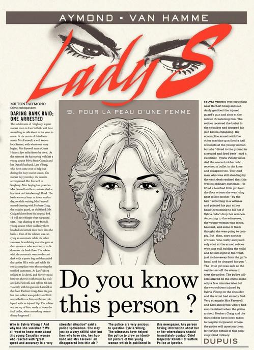 Lady S. t.9 ; pour la peau d'une femme