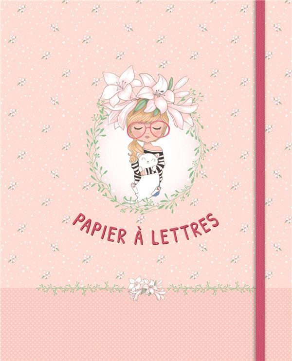 Papier à lettres - fille avec lunettes