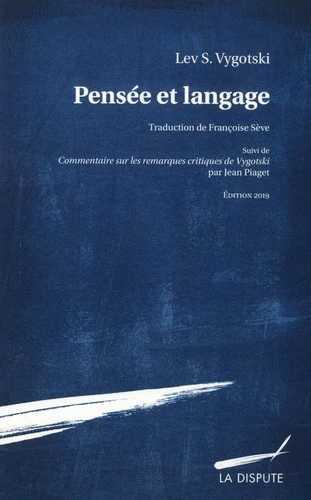 Pensée et langage (édition 2019)