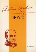 Vente Livre Numérique : Antonio Machado hoy (1939-1989)  - Paul Aubert