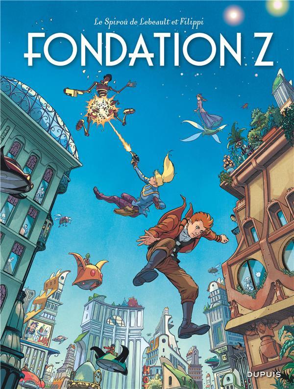 Le Spirou de... T.13 ; Fondation Z