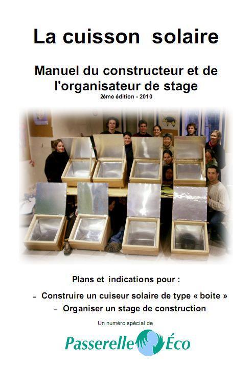La cuisson solaire ; manuel du constructeur et de l'organisateur de stage (2e édition)