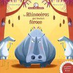 Vente Livre Numérique : Mamie Poule raconte - Le rhinocéros qui louchait féroce  - Christine Beigel
