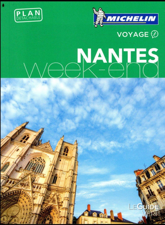 Le guide vert week-end ; Nantes