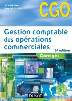 gestion comptable des opérations commerciales ; corrigés (6e édition)