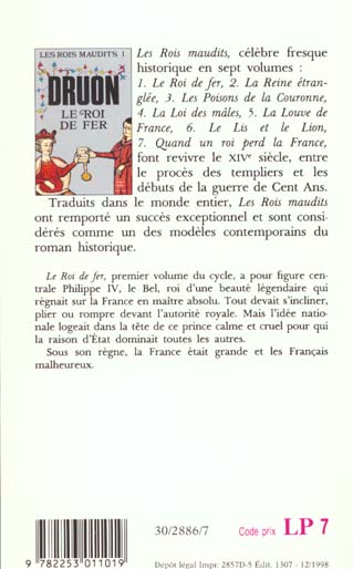 Les rois maudits T.1 ; le roi de fer