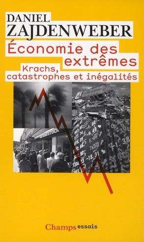 économie des extrêmes ; krachs, catastrophes et inégalités
