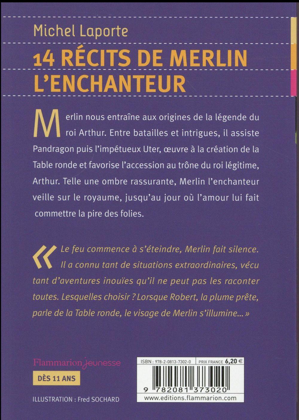 14 récits de Merlin l'enchanteur