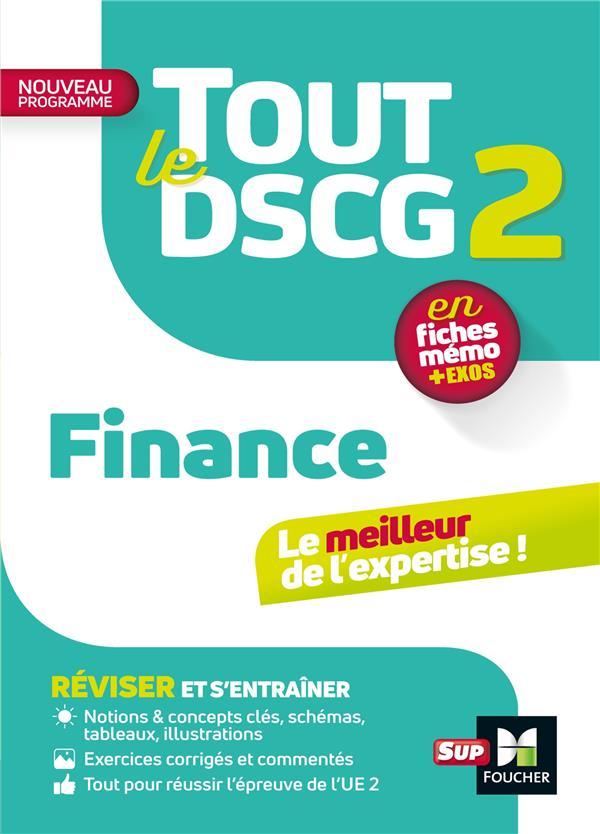 Tout le DSCG 2 ; finance