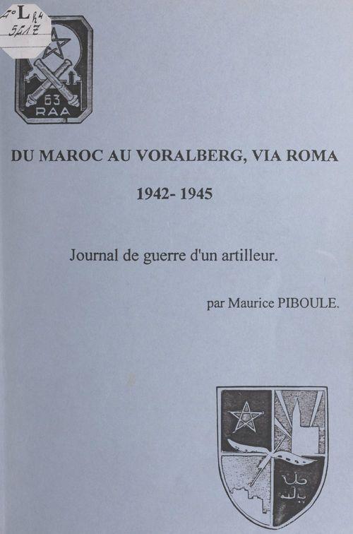 Du Maroc au Voralberg, via Roma, 1942-1945