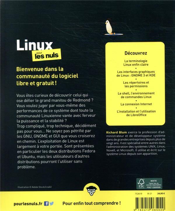 Linux pour les nuls (13e édition)