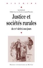 Vente Livre Numérique : Justice et sociétés rurales  - Yves Jean - Frédéric Chauvaud - Laurent Willemez