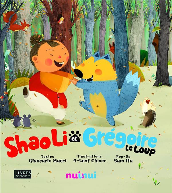 Shaoli et Grégoire le loup