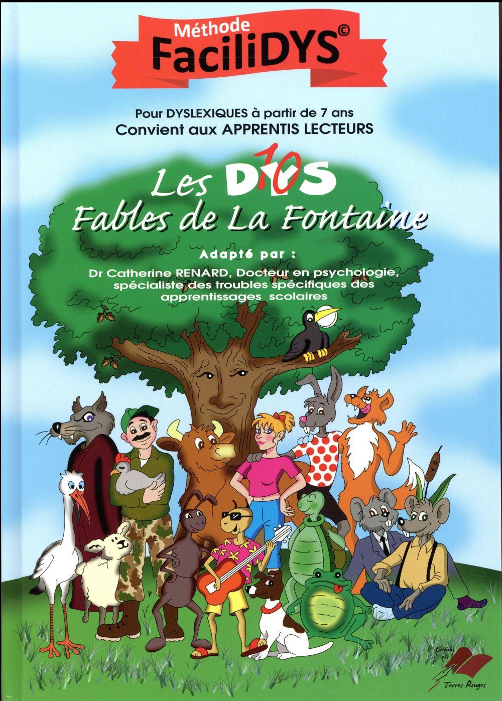 Les dys (10) fables, de La Fontaine