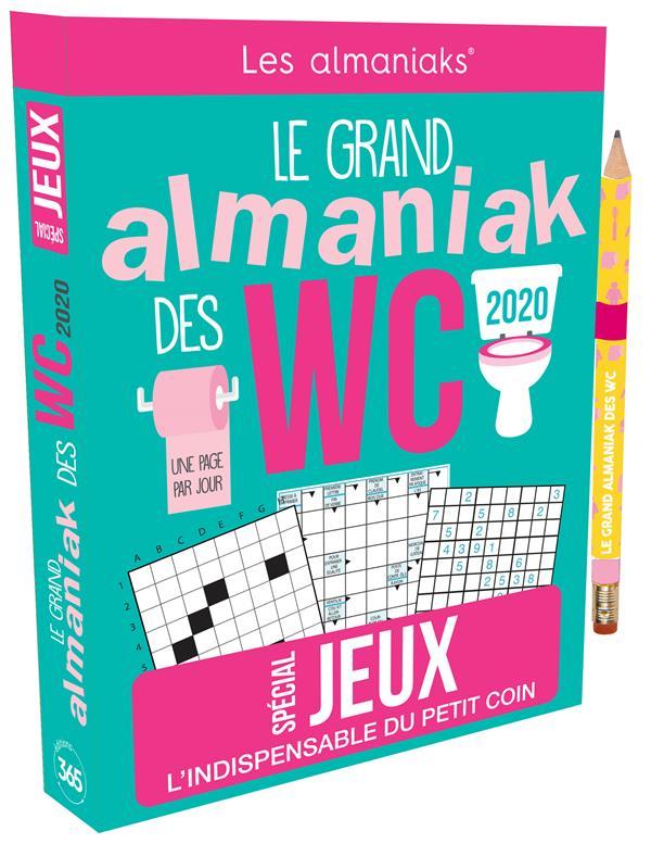 Le grand Almaniak des WC ; spécial jeux (édition 2020)