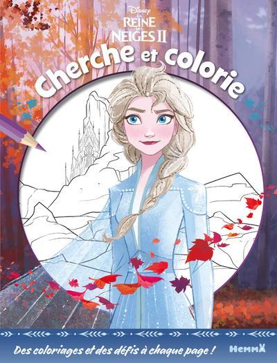 La Reine des Neiges 2 ; cherche et colorie
