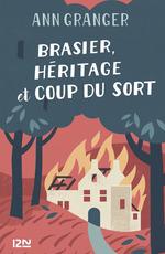 Vente Livre Numérique : Brasier, héritage et coup du sort  - Ann GRANGER - Elisabeth Kern
