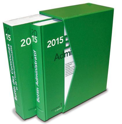 Bottin des communes et Bottin administratif ; coffret (édition 2015)