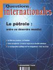 Revue questions internationales t.2; le petrole : quel ordre mondial ?