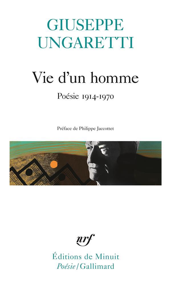 Vie d'un homme - poesie 1914-1970