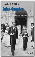 Saint-Onuphre ; souvenirs d'un autre temps