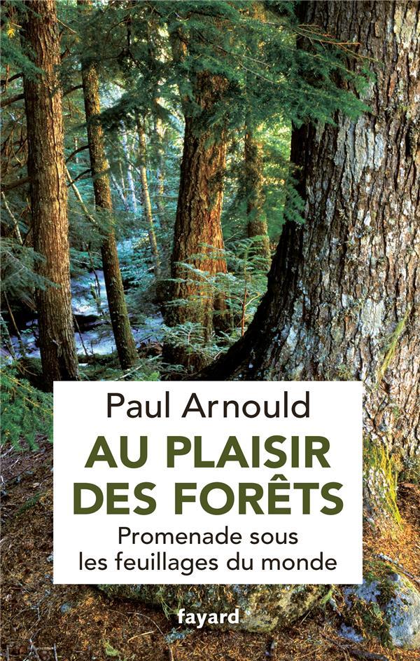 au plaisir des forêts ; promenade sous les feuillages du monde