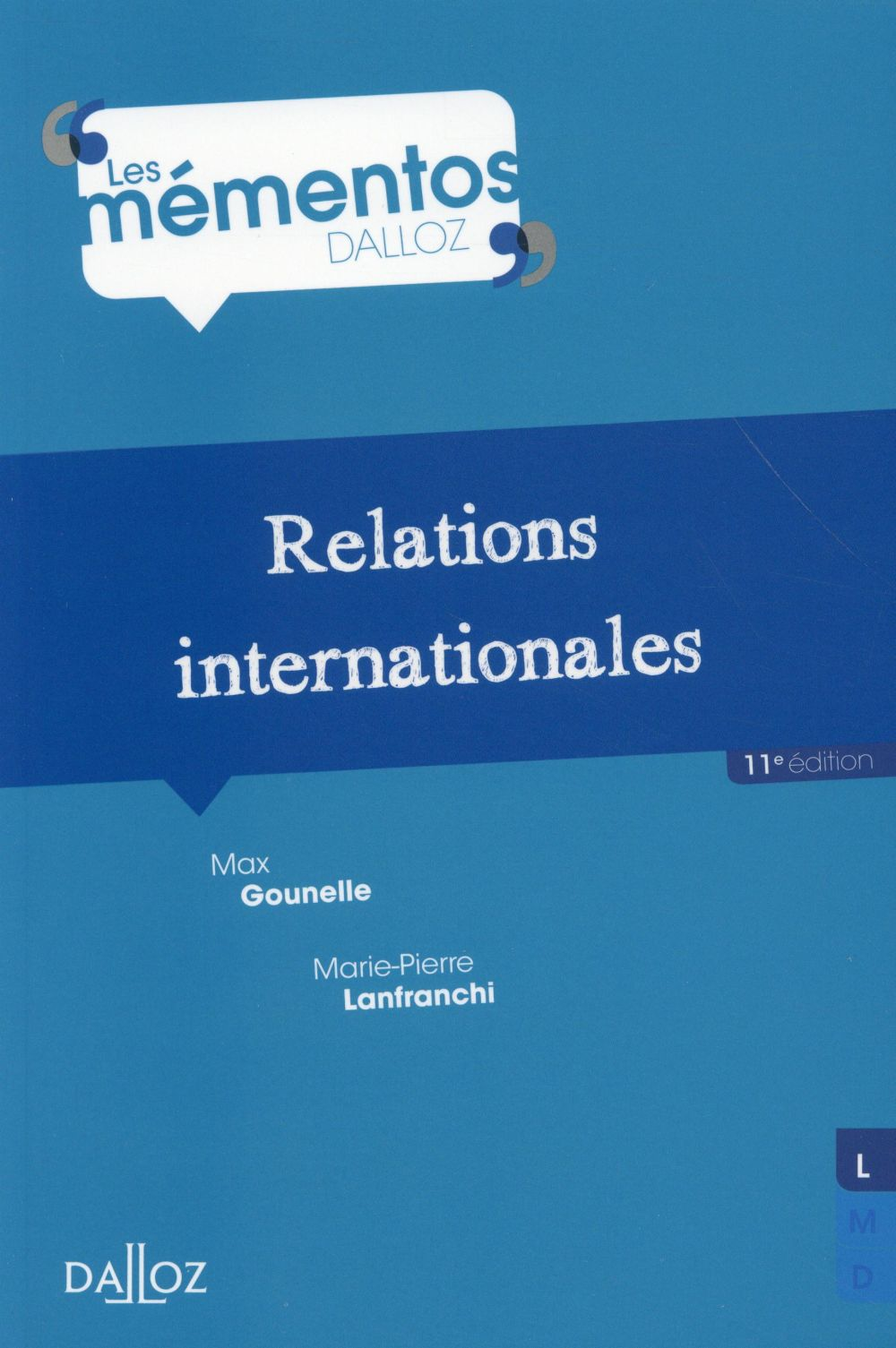 Relations internationales (11e édition)