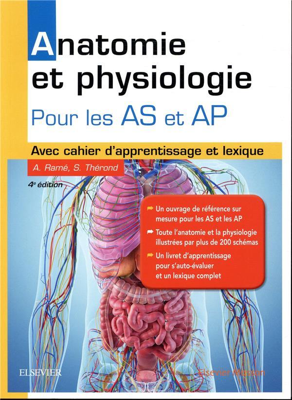 ANATOMIE ET PHYSIOLOGIE  -  AIDE-SOIGNANT ET AUXILIAIRE DE PUERICULTURE RAME, ALAIN