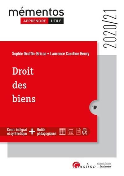 Droit des biens (édition 2020/2021)