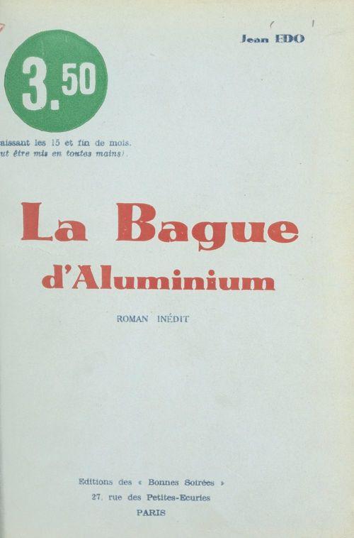 La bague d'aluminium