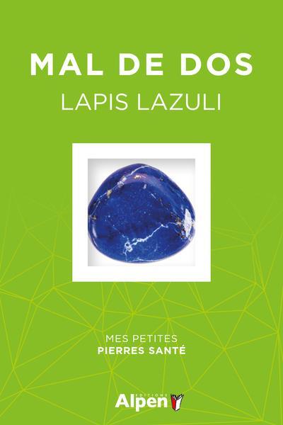 Coffret litho mal de dos ; lapis lazuli