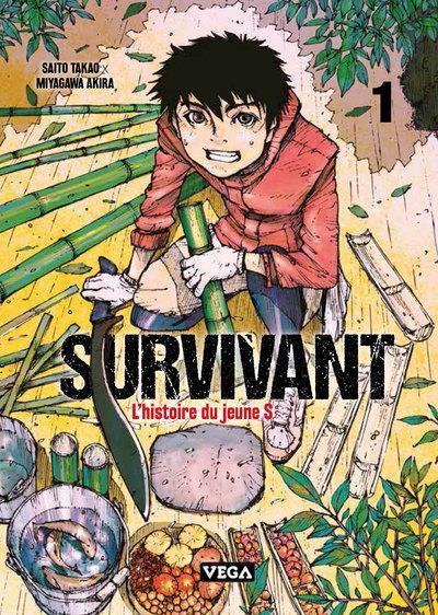Survivant ; l'histoire du jeune S. T.1