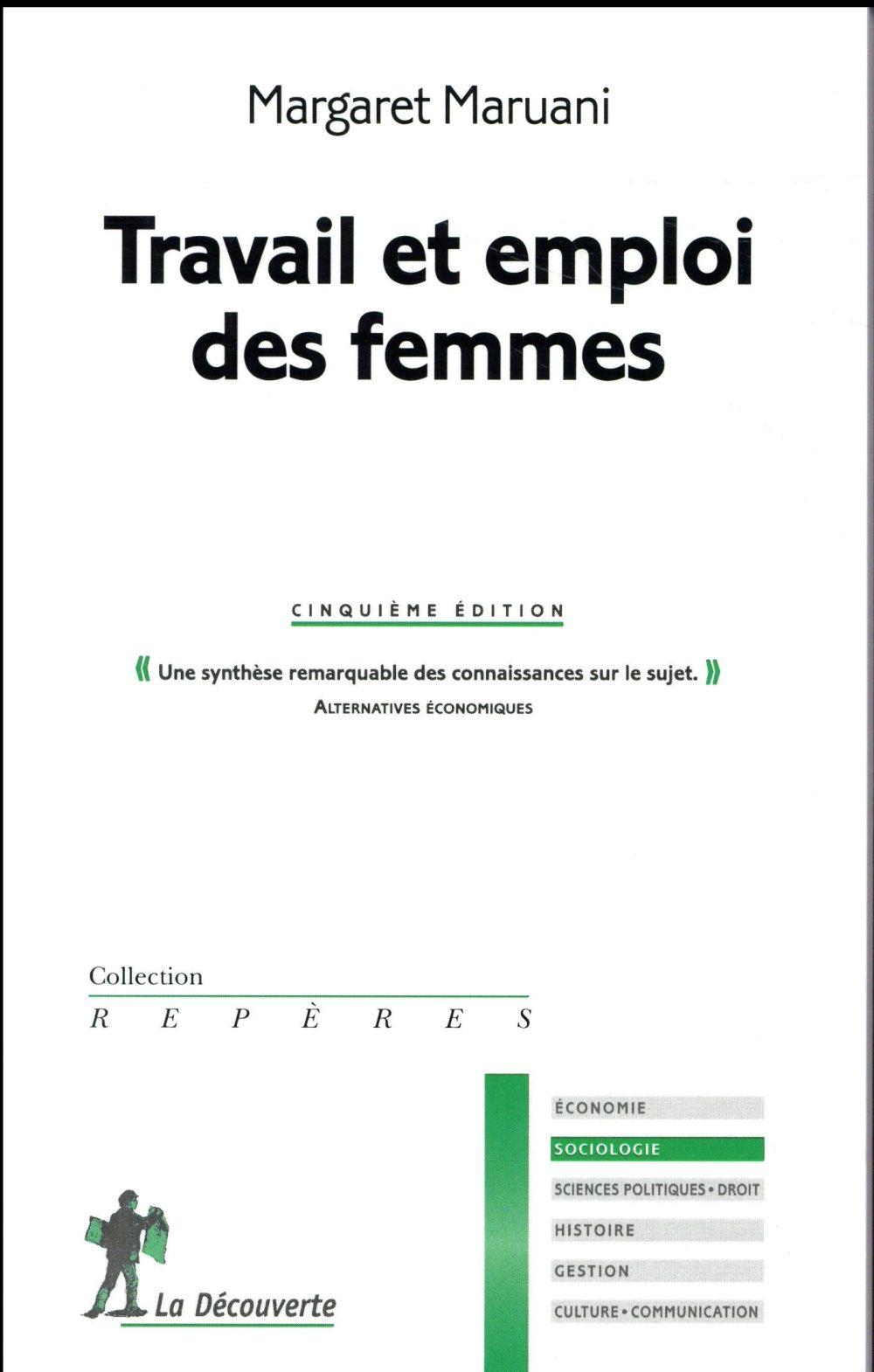 TRAVAIL ET EMPLOI DES FEMMES (