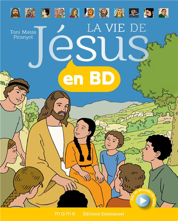 La vie de Jésus en BD