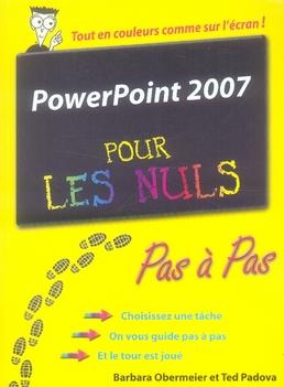 PowerPoint 2007 pas à pas pour les nuls