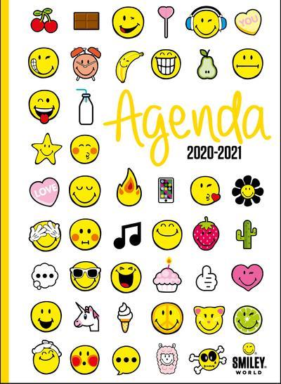 Smiley ; agenda émoticones (édition 2020/2021)