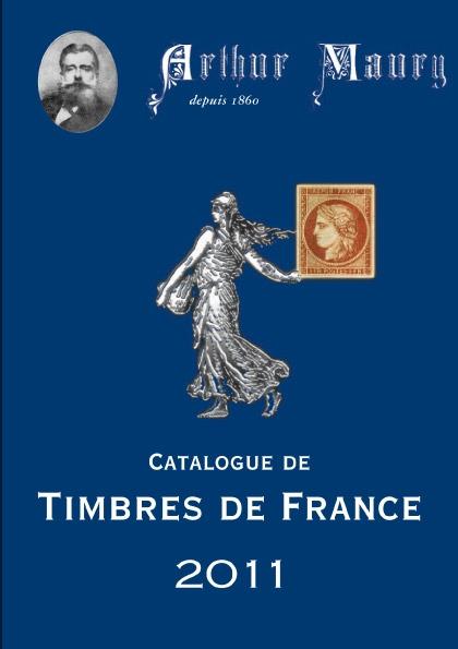 Catalogue de timbres de France 2011