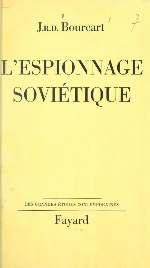 L'espionnage soviétique