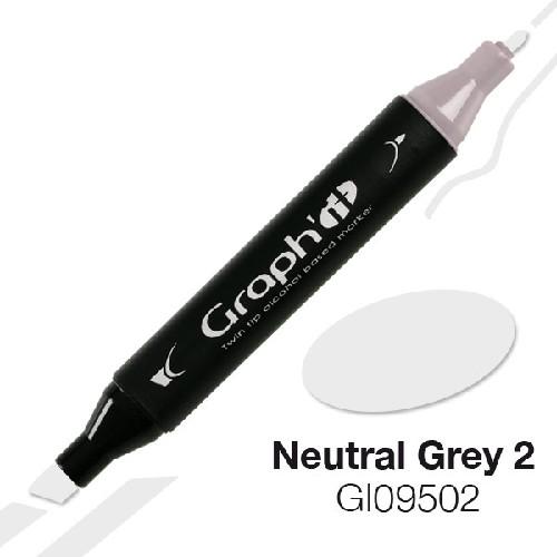 Marqueur à alcool GRAPH'IT 9502 - Neutral Grey 2 - 1 unité