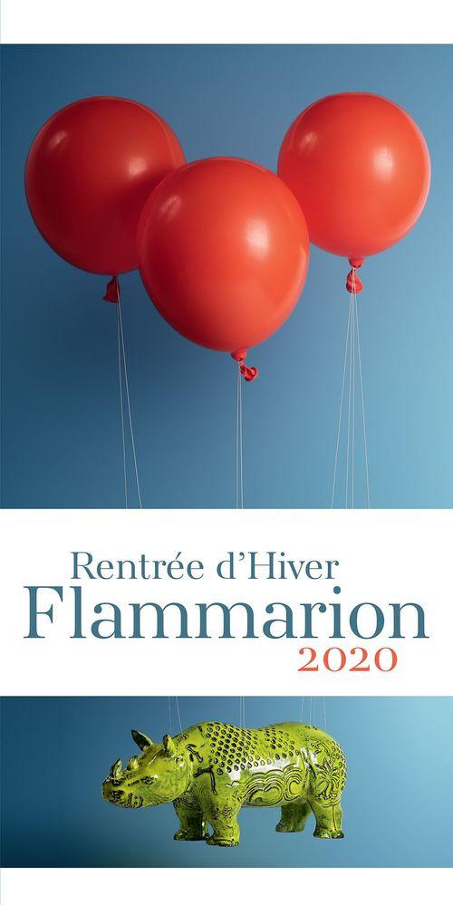 Rentrée littéraire Flammarion Janvier 2020