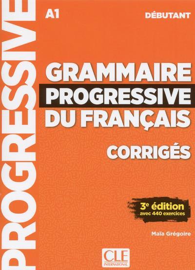 FLE ; grammaire du français ; débutant ; A1 (édition 2018)