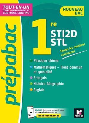 prépabac ; toutes les matières générales ;  1re STI2D/STL ; cours et contrôle continu