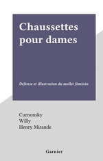 Vente EBooks : Chaussettes pour dames  - Willy - Curnonsky