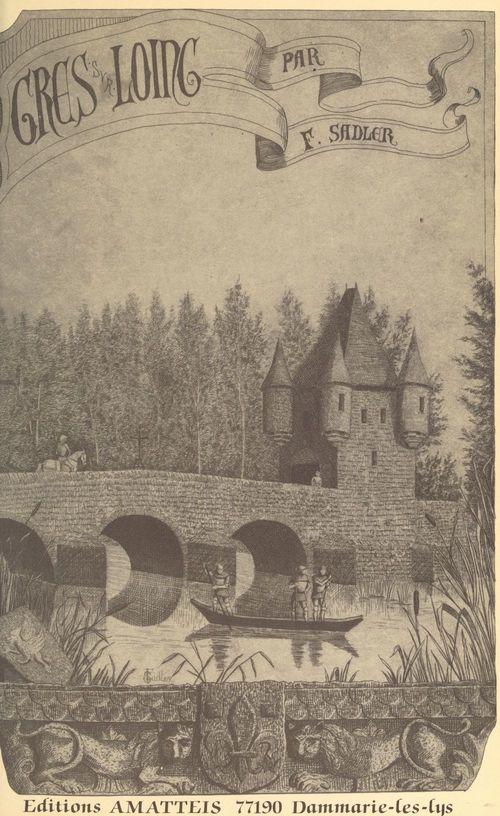 Grès-sur-Loing  - Fernande Sadler
