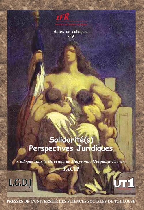 Solidarité(s) ; perspectives juridiques t.6