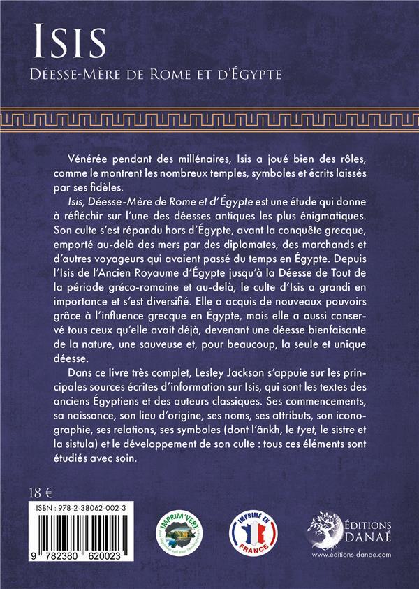 Isis, déesse-mère de Rome et d'Egypte