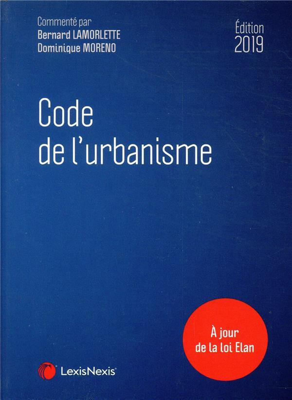 Code de l'urbanisme (édition 2019)